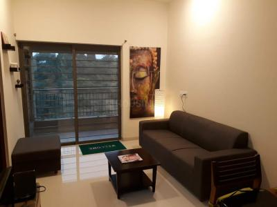Gallery Cover Image of 659 Sq.ft 1 BHK Apartment for rent in Bhugaon for 15000