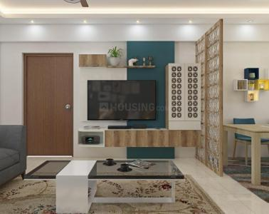 Gallery Cover Image of 1178 Sq.ft 2 BHK Apartment for rent in Desai Grandeur, Chansandra for 25000