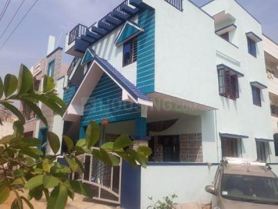 Gallery Cover Image of 1200 Sq.ft 3 BHK Independent Floor for rent in Jalahalli West for 15000