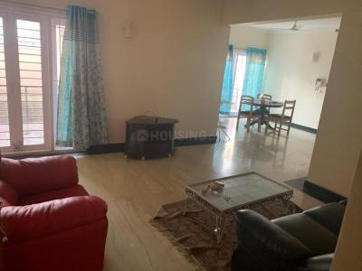 Gallery Cover Image of 1800 Sq.ft 3 BHK Apartment for rent in Indira Nagar for 46000