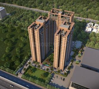Gallery Cover Image of 1330 Sq.ft 3 BHK Apartment for rent in Sun South Park, Bopal for 17000