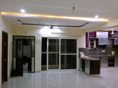 Gallery Cover Image of 1800 Sq.ft 3 BHK Apartment for rent in Cyber view residency, Hitech City for 50000