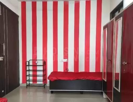 बोरीवली ईस्ट में अभिषेक पीजी में बेडरूम की तस्वीर