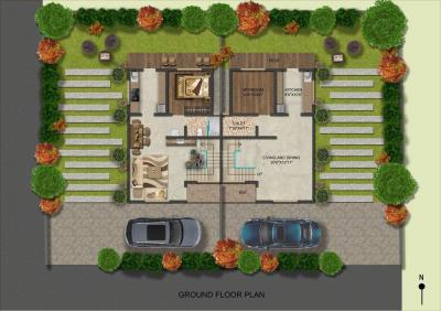 Gallery Cover Image of 875 Sq.ft 2 BHK Villa for buy in Valvan for 5363000