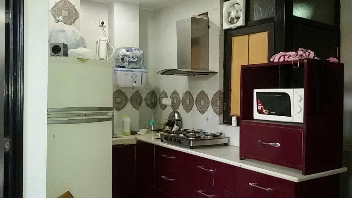 Kitchen Image of Rikki PG in Patel Nagar