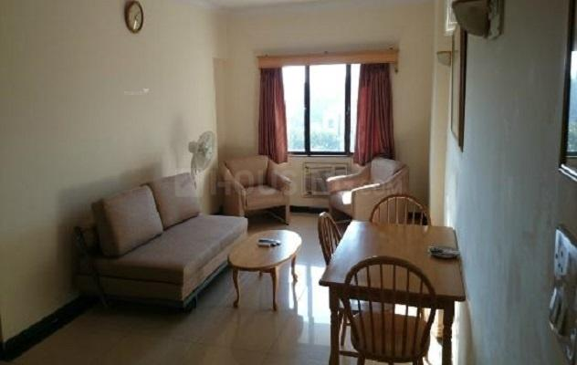 Living Room Image of 600 Sq.ft 1 BHK Apartment for rent in Mira Road East for 15500