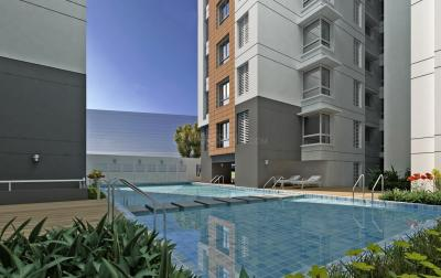 Gallery Cover Image of 1383 Sq.ft 2 BHK Apartment for buy in Prestige Woodland Park, Cox Town for 21000000