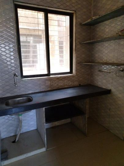 Kitchen Image of 370 Sq.ft 1 RK Independent Floor for rent in Vichumbe for 4000