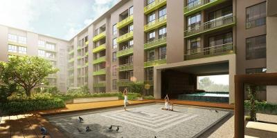 Gallery Cover Image of 1054 Sq.ft 2 BHK Apartment for buy in Bhawani Courtyard, Madhyamgram for 3600000