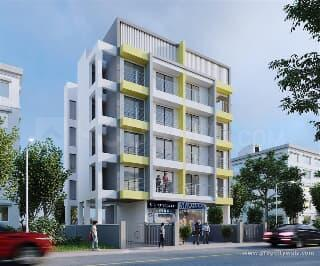 Gallery Cover Image of 410 Sq.ft 1 RK Apartment for buy in Ghansoli for 3600000