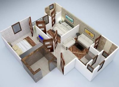 Gallery Cover Image of 800 Sq.ft 2 BHK Apartment for buy in Chauhan East Platnium, Sector 44 for 1950000