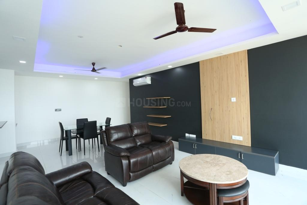 Living Room Image of 1673 Sq.ft 3 BHK Apartment for buy in Tellapur for 8326101