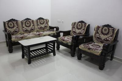 Living Room Image of 3-bhk(313) In Shubam Blooms in Gachibowli