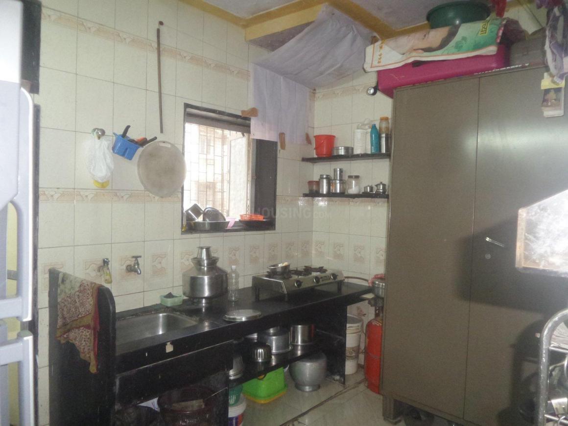 Kitchen Image of 350 Sq.ft 1 RK Apartment for buy in Vikhroli East for 6000000