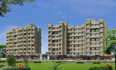 Gallery Cover Image of 380 Sq.ft 1 RK Apartment for buy in Shubham Aarsh Residency, Neral for 1140000