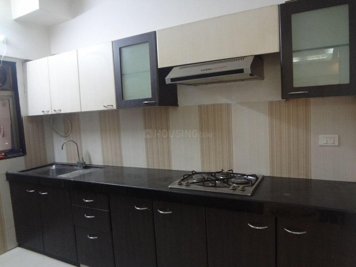 Kitchen Image of 1570 Sq.ft 3 BHK Apartment for rent in Wadala East for 80000