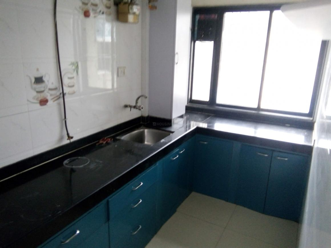 Kitchen Image of 1000 Sq.ft 2 BHK Apartment for rent in Sanpada for 27000