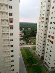 Gallery Cover Image of 1000 Sq.ft 3 BHK Apartment for rent in Diamond City West, Sarsuna for 19000