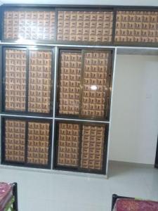 पवई में पीजी इन कंजूर में बेडरूम की तस्वीर