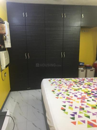 Bedroom Image of 700 Sq.ft 1 BHK Apartment for rent in Andheri West for 46000