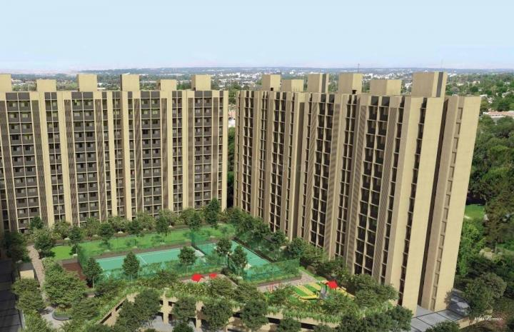 Building Image of 512 Sq.ft 2 BHK Apartment for buy in Rustomjee Global City, Virar West for 4000000