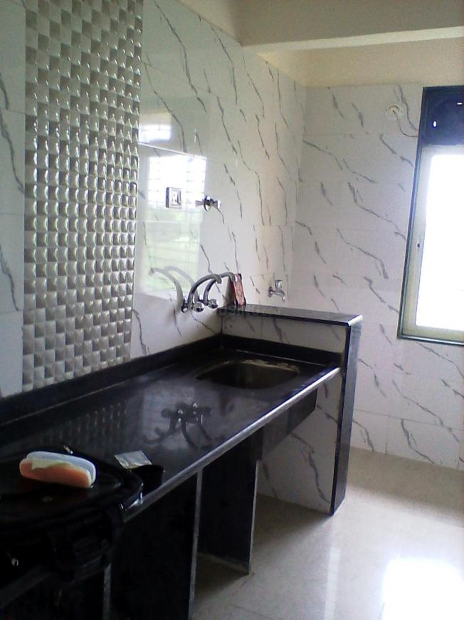 Kitchen Image of 950 Sq.ft 2 BHK Apartment for rent in Badlapur East for 7000