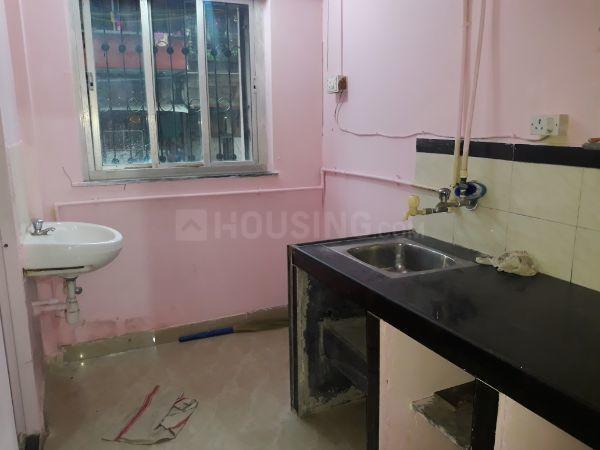 Kitchen Image of 320 Sq.ft 1 BHK Apartment for rent in Worli for 18000