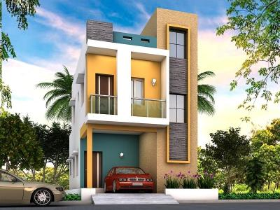 Gallery Cover Image of 750 Sq.ft 2 BHK Villa for buy in Semmancheri for 3800000