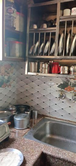 Kitchen Image of 400 Sq.ft 2 BHK Apartment for buy in Alipur Village for 1600000