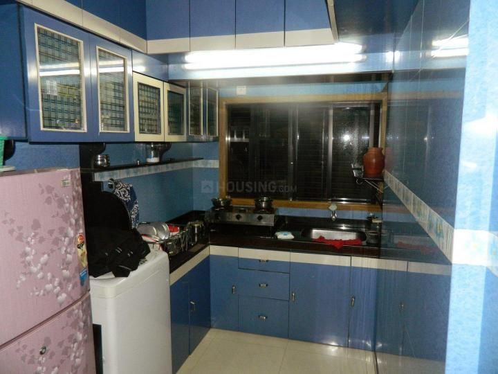 Kitchen Image of 650 Sq.ft 1 BHK Apartment for rent in Lower Parel for 55000