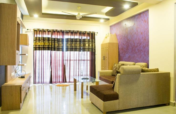 Living Room Image of PG 4643293 K R Puram in Krishnarajapura