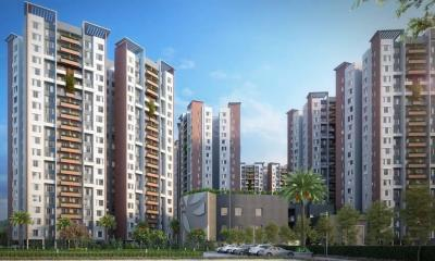 Gallery Cover Image of 1060 Sq.ft 2 BHK Apartment for rent in Reekjoyoni for 14000