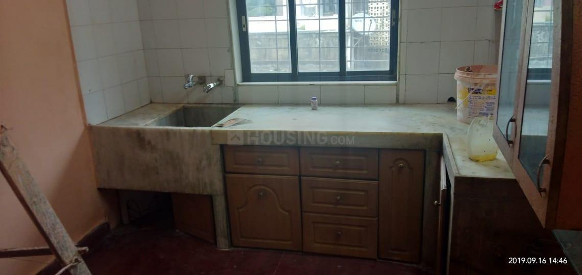 Kitchen Image of 800 Sq.ft 2 BHK Apartment for rent in Bibwewadi for 13000