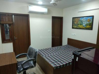 Gallery Cover Image of 750 Sq.ft 1 BHK Independent Floor for rent in Mayur Vihar II for 15000