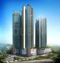 Gallery Cover Image of 1050 Sq.ft 2 BHK Apartment for buy in Romell Aether, Goregaon East for 24100000