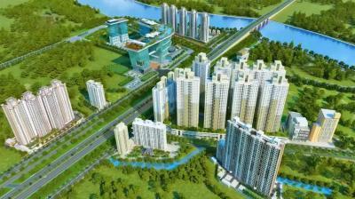 Gallery Cover Image of 1800 Sq.ft 3 BHK Apartment for buy in Rustomjee Urbania Azziano, Thane West for 21000000