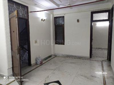 Gallery Cover Image of 1000 Sq.ft 3 BHK Independent Floor for rent in RWA Khirki Extension Block R, Malviya Nagar for 25000