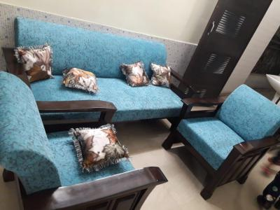 Gallery Cover Image of 550 Sq.ft 1 BHK Independent Floor for rent in Shakti Khand for 12000