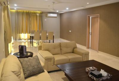 Gallery Cover Image of 4200 Sq.ft 4 BHK Apartment for rent in DLF New Town Heights, New Town for 75000