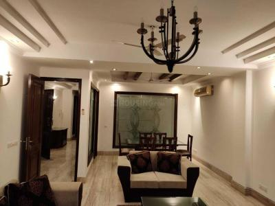 Gallery Cover Image of 4500 Sq.ft 4 BHK Independent Floor for rent in New Friends Colony for 135000