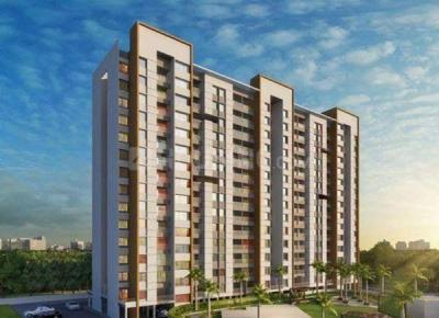 Gallery Cover Image of 600 Sq.ft 1 BHK Apartment for buy in Majestique Mrugavarsha Phase II, Dhayari for 2999999