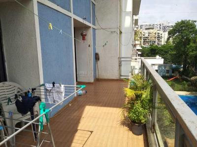 Gallery Cover Image of 1550 Sq.ft 3 BHK Apartment for rent in Wadgaon Sheri for 35000