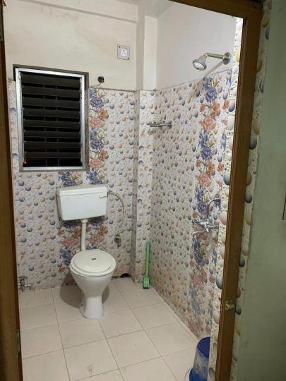 Common Bathroom Image of 800 Sq.ft 2 BHK Independent House for rent in Dunlop for 10000