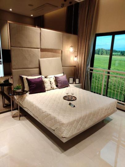 Bedroom Image of 610 Sq.ft 1 BHK Apartment for buy in Sunteck MaxxWorld 1 Tivri Naigaon East, Naigaon East for 3350000