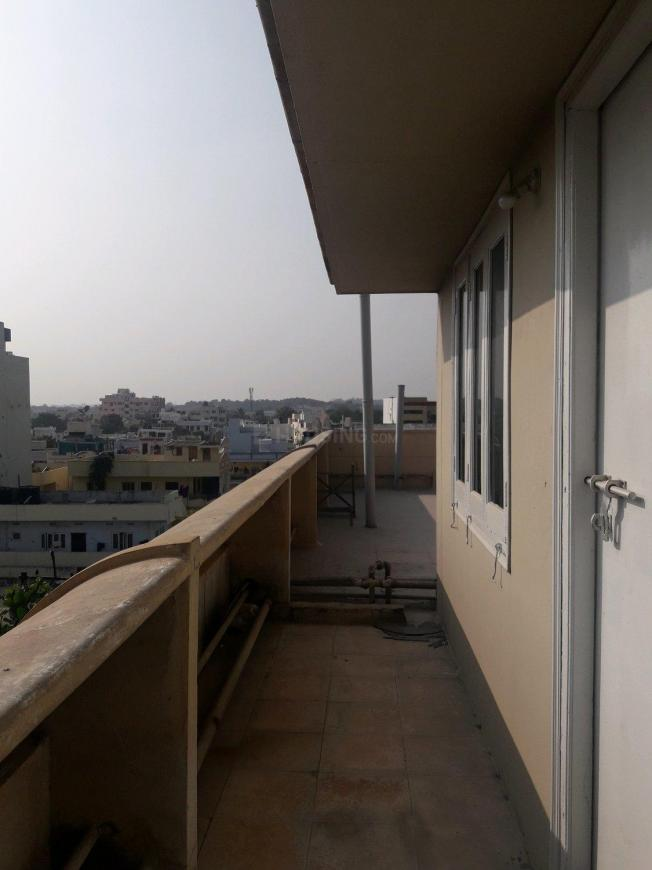 Attached Balcony with Bedroom