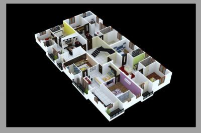 Gallery Cover Image of 1125 Sq.ft 2 BHK Apartment for buy in Medavakkam for 6862500