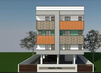 Gallery Cover Image of 1090 Sq.ft 2 BHK Apartment for buy in Besant Nagar for 11500000