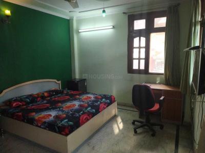 सुशांत लोक आई में अश्वनी पीजी में बेडरूम की तस्वीर