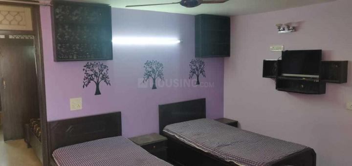 मालवीय नगर में पंकज पीजी में बेडरूम की तस्वीर