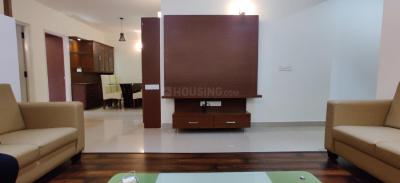 Gallery Cover Image of 1500 Sq.ft 3 BHK Apartment for rent in Jakkur for 50000